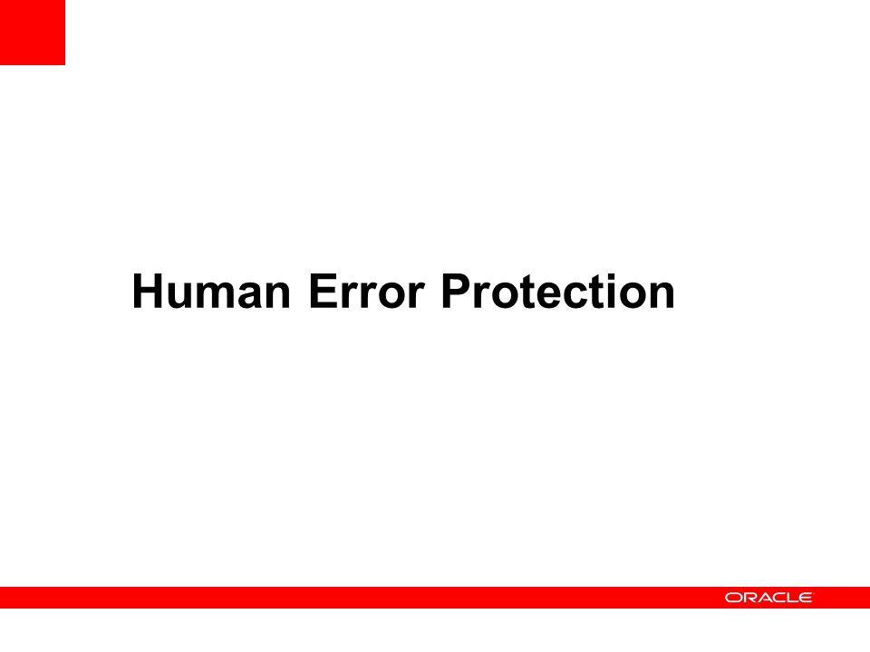 Human Error Protection