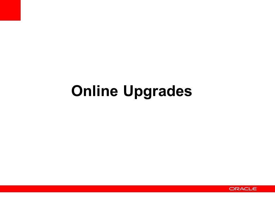 Online Upgrades