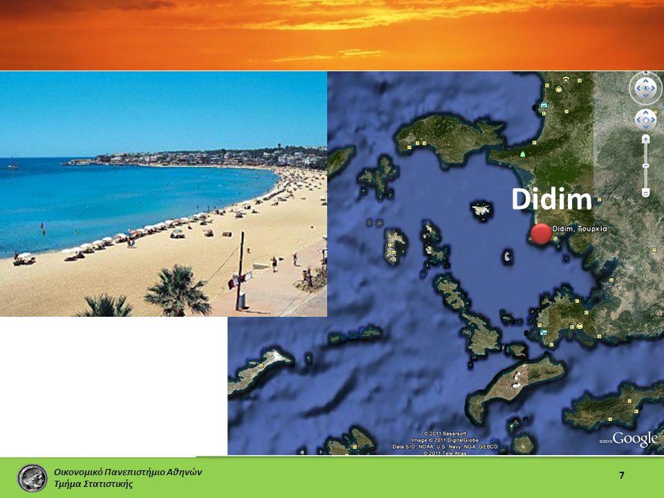 Οικονομικό Πανεπιστήμιο Αθηνών Τμήμα Στατιστικής 7 Didim