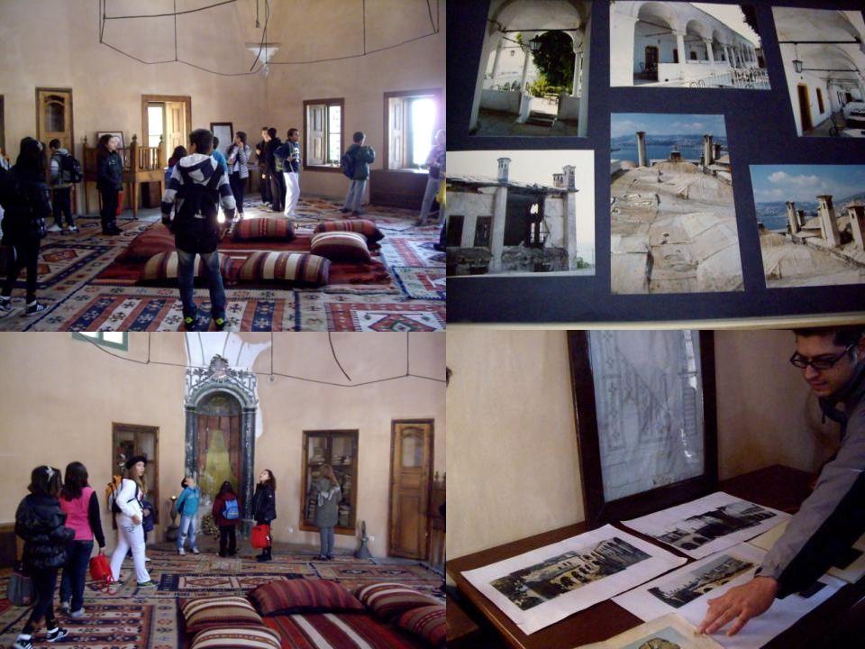 Ο δεύτερος όροφος περιλαμβάνει το δωμάτιο του χαρεμιού,όπου κοιμόταν όλες οι παλακίδες,τα ιδιαίτερα δωμάτια του πασά και το δωμάτιο της ευνοούμενής του παλλακίδας.
