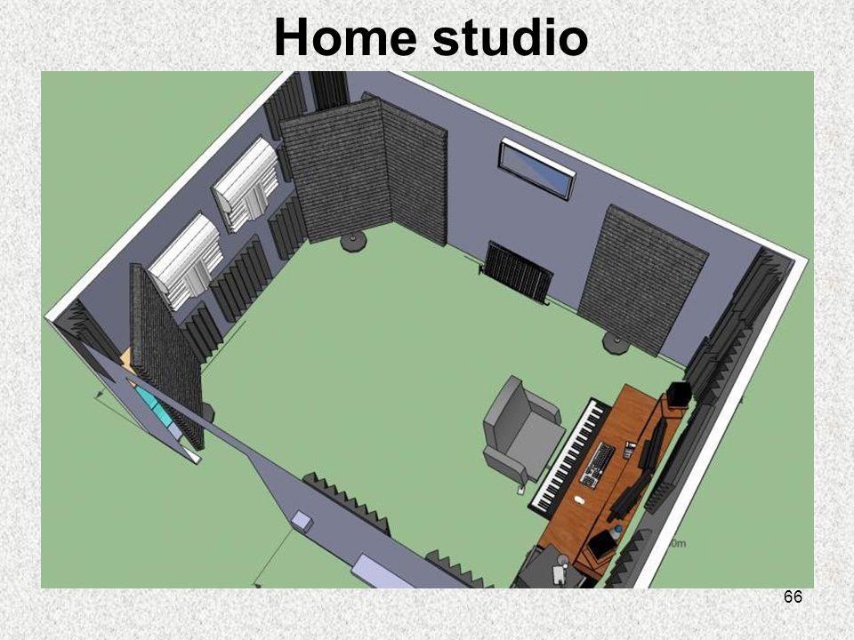 66 Home studio