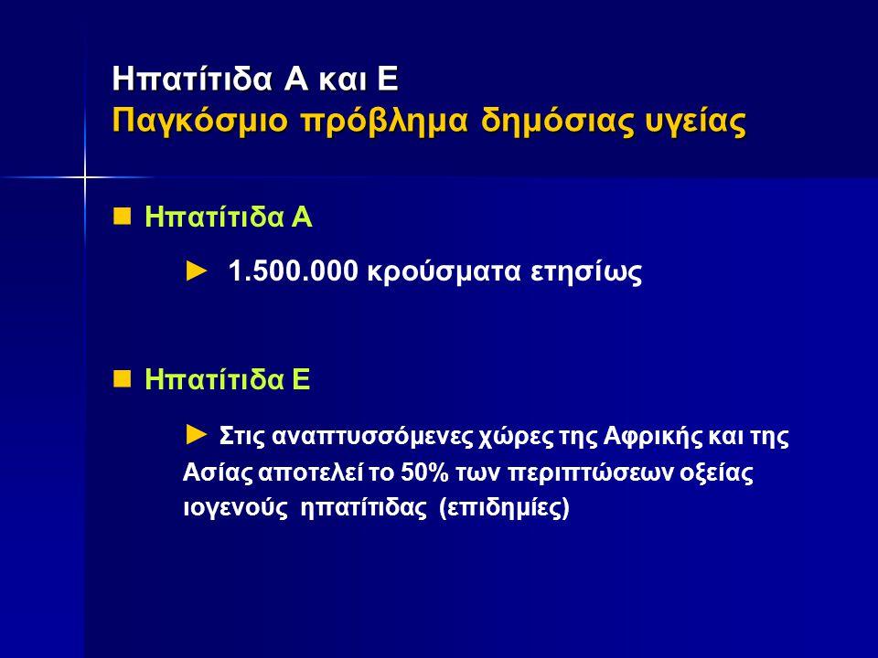 Ηπατίτιδα Ε Ηπατίτιδα Ε