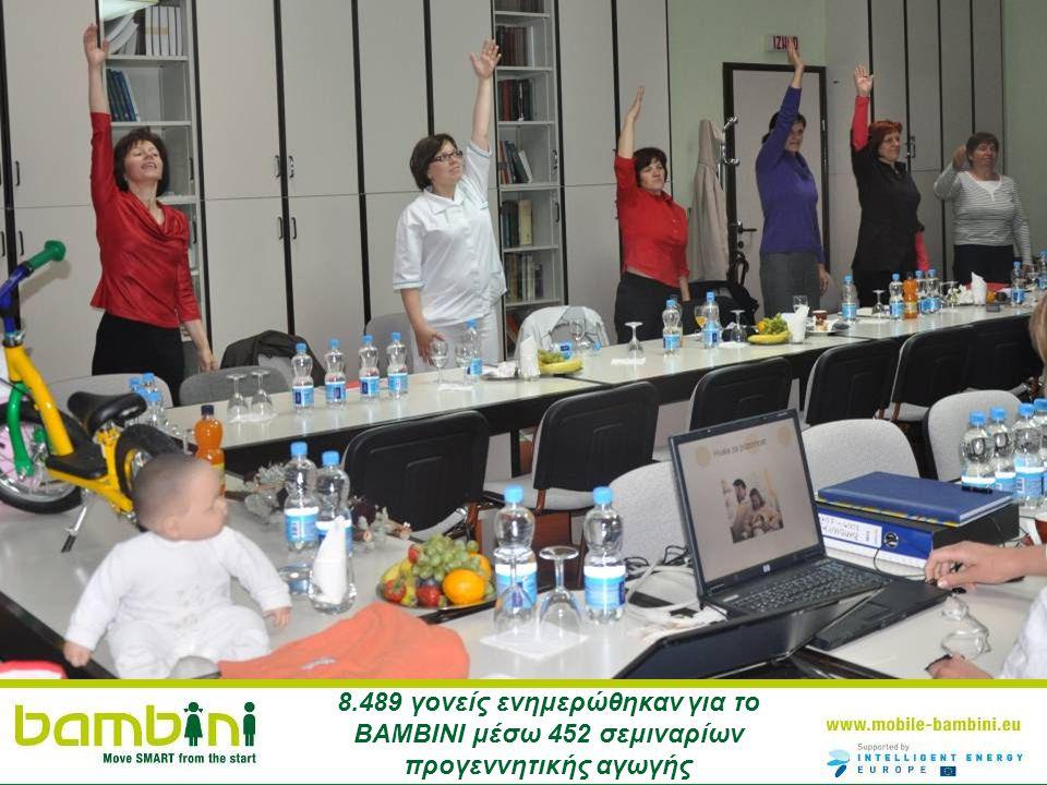 8.489 γονείς ενημερώθηκαν για το ΒΑΜΒΙΝΙ μέσω 452 σεμιναρίων προγεννητικής αγωγής