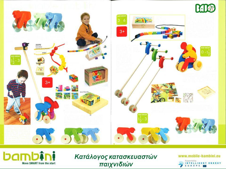 B Κατάλογος κατασκευαστών παιχνιδιών