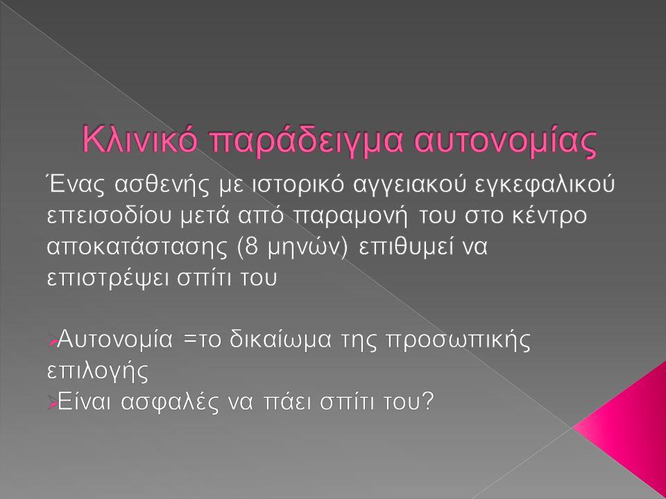 Ethics 2009 20 ΕΠΙΚΟΙΝΩΝΙΑ ΑΝΤΑΝΑΚΛΑΣΗ ΚΑΤΑΝΟΗΣΗ