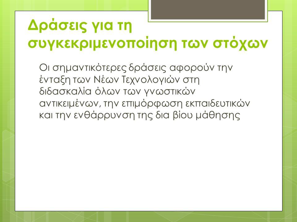 Αντικείμενο της επιμόρφωσης β΄ επιπέδου είναι • η εκμάθηση των αρχών παιδαγωγικής αξιοποίησης των ΤΠΕ • η απόκτηση δεξιοτήτων, κατά κλάδο εκπαιδευτικών, για την παιδαγωγική αξιοποίηση εκπαιδευτικού λογισμικού και εργαλείων γενικής χρήσης • και η καλλιέργεια του τρίπτυχου γνώσεις-δεξιότητες-στάσεις.