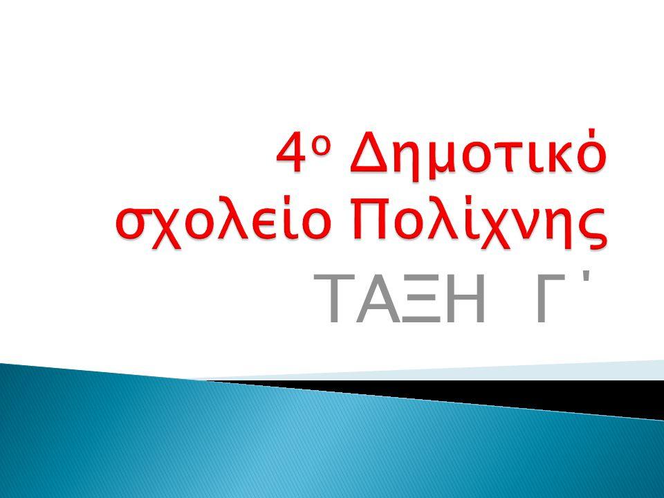 ΤΑΞΗ Γ΄