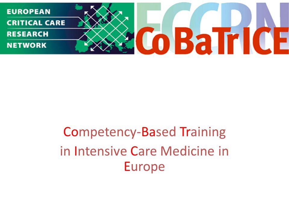 Γενικό Νοσοκομείο Λευκωσίας Μονάδα Εντατικής Θεραπείας Γενικό Νοσοκομείο Ηρακλείου Μονάδα Εντατικής Θεραπείας Competency-Based Training in Intensive C