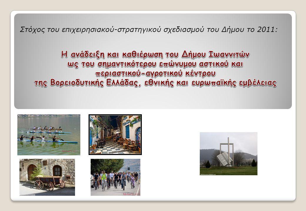 Στόχος του επιχειρησιακού-στρατηγικού σχεδιασμού του Δήμου το 2011:
