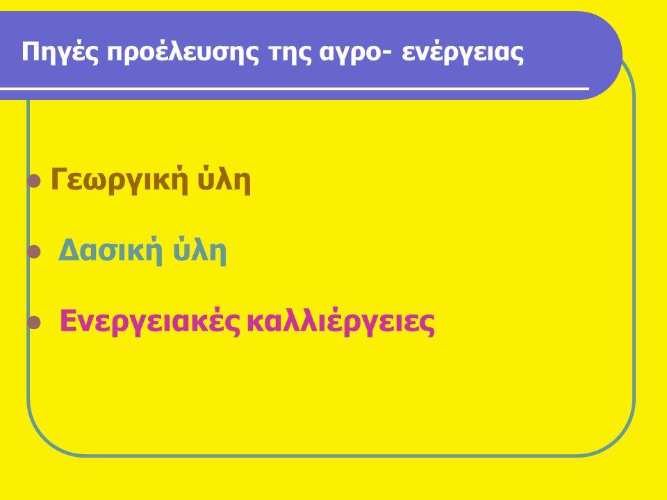 Νέες Ιδέες & Προτάσεις για την Αγροτική Οικονομία του Τόπου μας Βιβλιογραφία : • Εκδόσεις Agrotypos : Γεωργία – Κτηνοτροφία τεύχος 7/2010.