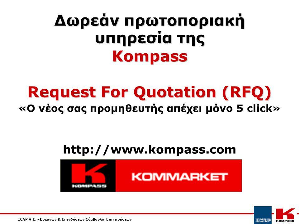 ICAP A.E.- Ερευνών & Επενδύσεων Σύμβουλοι Επιχειρήσεων Επικοινωνία ICAP A.E.