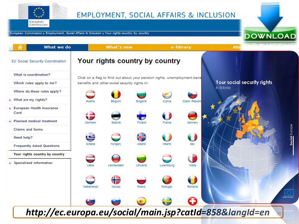http://ec.europa.eu/social/main.jsp?catId=858&langId=en 30