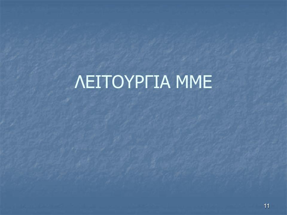 ΛΕΙΤΟΥΡΓΙΑ ΜΜΕ 11