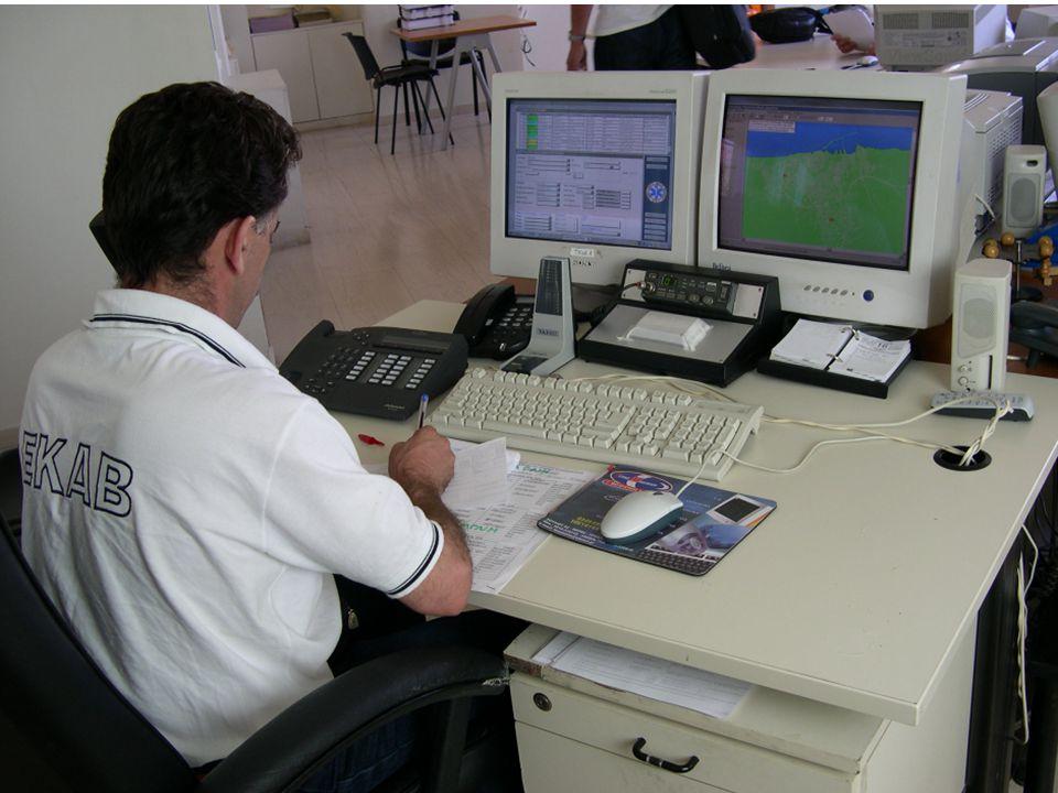 Ινστιτούτο Πληροφορικής, Ίδρυμα Τεχνολογίας & Έρευνας Επείγον Κλήση & Διαχείριση Πόρων Δημογραφικά στοιχεία Λίστα επεισοδίων Στοιχεία Επεισοδίου Πλήρωμα / Σχόλια Πρωτόκολλα διαλογής n Ο Διαχειριστής στο ΣΚ δέχεται ένα επείγον τηλεφώνημα n Με βάση τις πρώτες πληροφορίες & τα πρωτόκολλα διαλογής εκτιμά την βαρύτητα του περιστατικού n Στέλνει το ανάλογο ασθενοφόρο n Ένα νέο επεισόδιο βρίσκεται σε εξέλιξη.