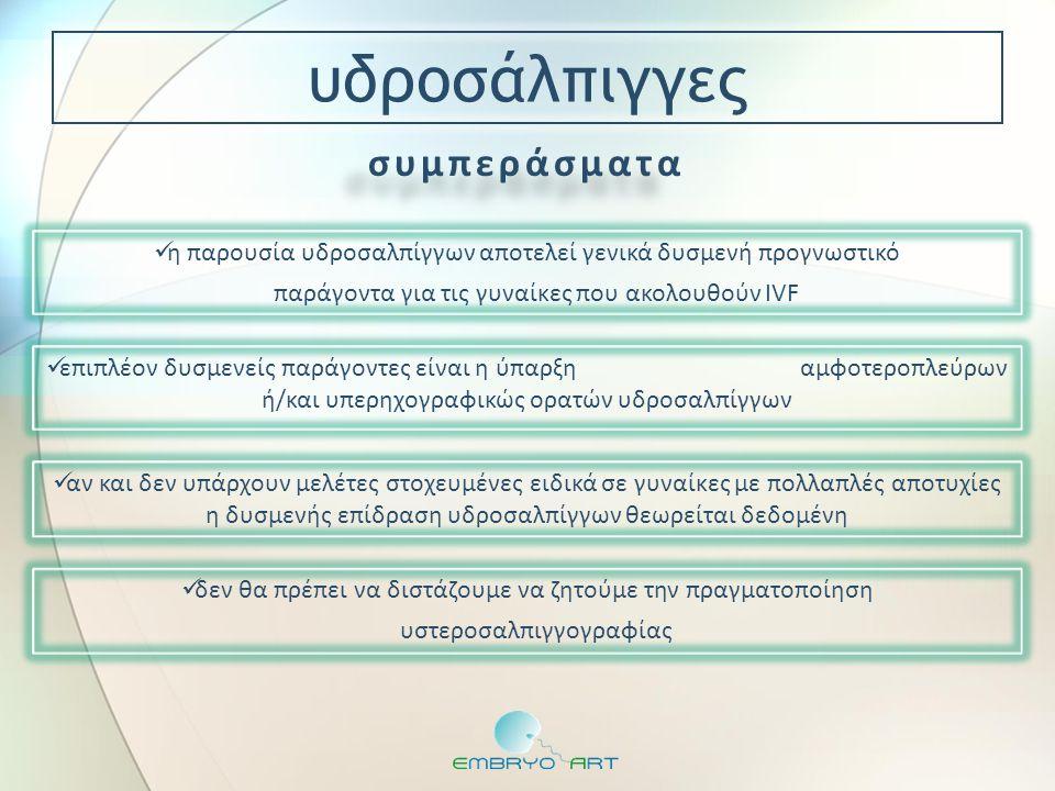 αφορούν τους γονείς, τους γαμέτες, τα έμβρυα αυξημένη συχνότητα ανωμαλιών στον καρυότυπο γονέων με αποτυχίες Tarlatzis BC, Toncheva DI, Vatev IT.