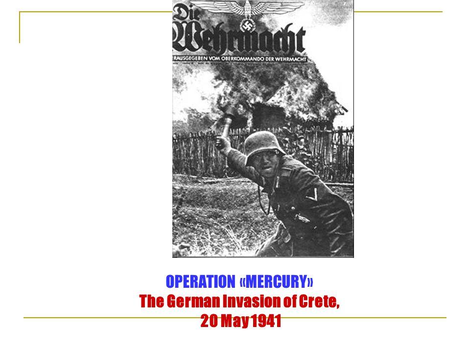  Για τη μάχη της Κρήτης ο Winston Churchill γράφει στα απομνημονεύματά του:  Στην Κρήτη ο Goering κέρδισε μια Πύρρειο νίκη, διότι με τις δυνάμεις που σπατάλησε εκεί θα μπορούσε εύκολα να κατακτήσει την Κύπρο, τη Συρία, το Ιράκ και ίσως ακόμη και την Περσία...