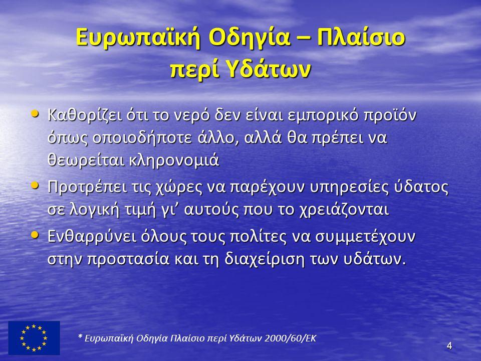 Η Ελληνική νομοθεσία • Ν.