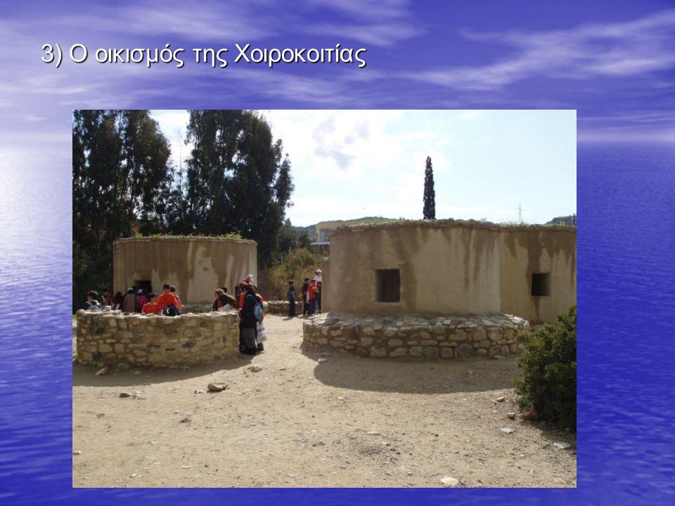 3) Ο οικισμός της Χοιροκοιτίας