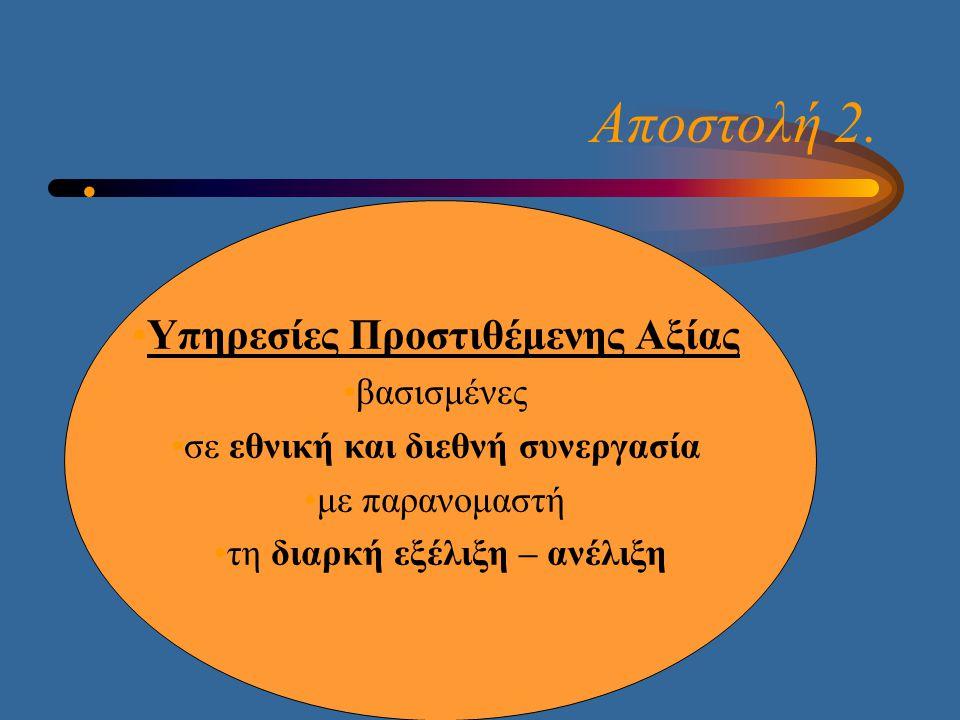 Άξονες Ανάπτυξης της Νέας Πολιτικής  Ο Συντονιστικός Ρόλος της Εθνικής Βιβλιοθήκης της Ελλάδος