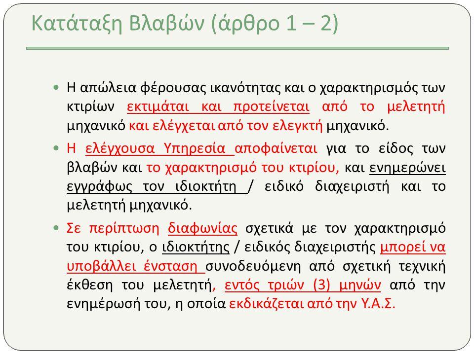 Και τι μένει. Τιμολόγιο 2011 Άρθρο Δ.2 Για την επισκευή τοιχοποιίας πλήρωσης που φέρει βλάβες.