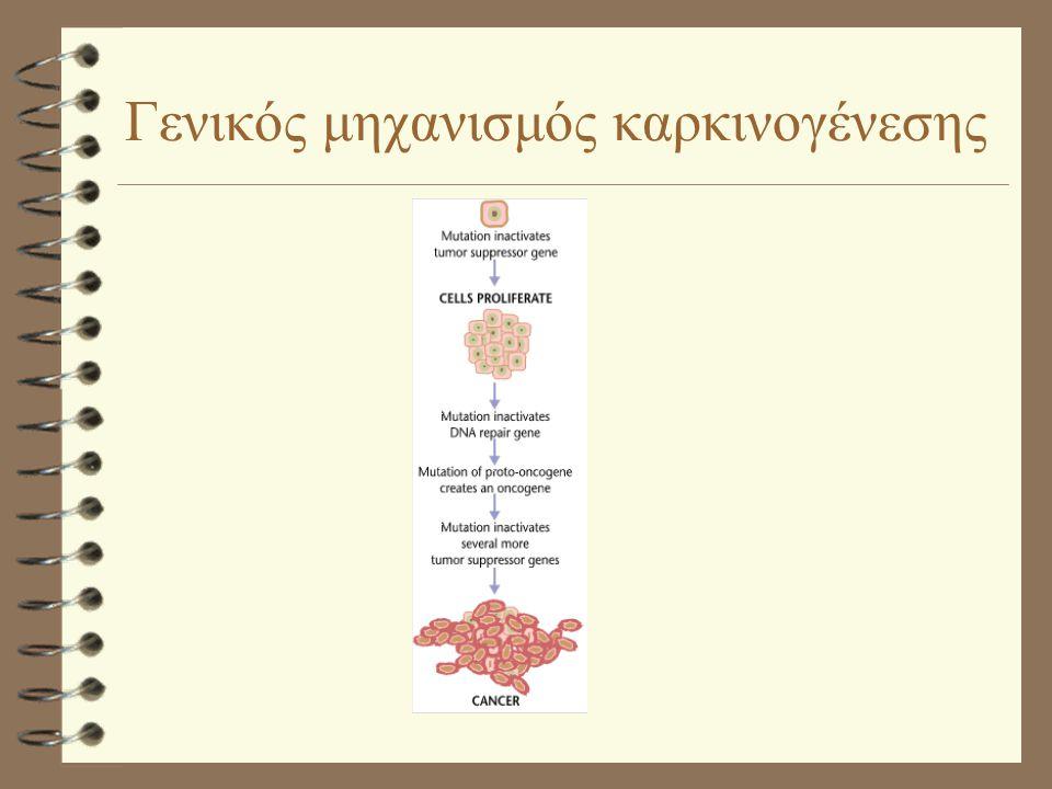 Γενικός μηχανισμός καρκινογένεσης