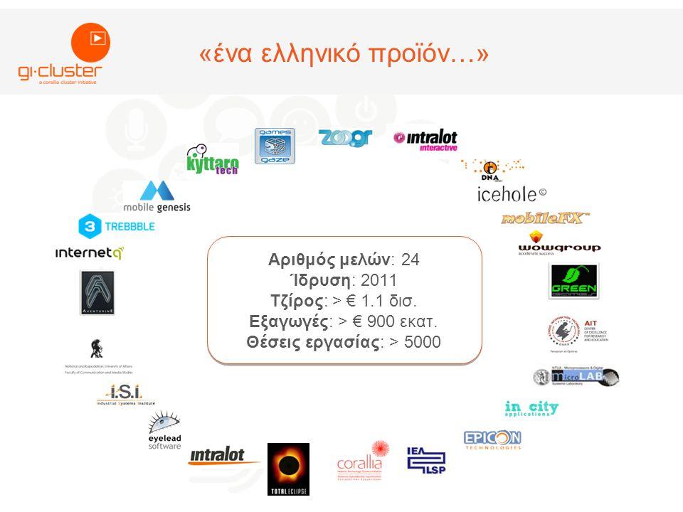 Αριθμός μελών: 24 Ίδρυση: 2011 Τζίρος: > € 1.1 δισ.