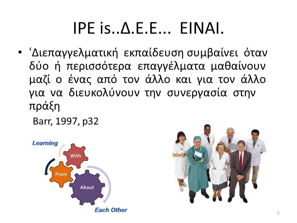 IPE is..Δ.Ε.Ε...ΕΙΝΑΙ.