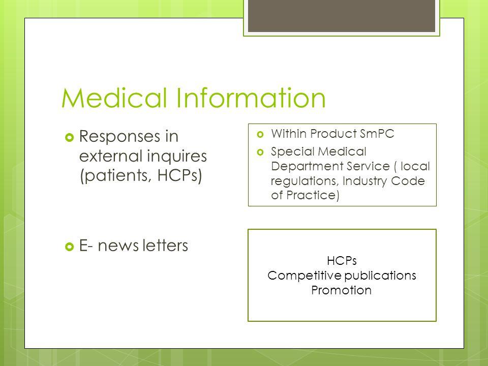 New technologies  Υλικά προώθησης με τη χρήση της τεχνολογίας  E- company sites  Social Media  Patients' sites