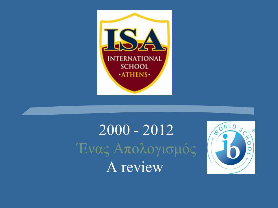 2000 - 2012 Ένας Απολογισμός A review