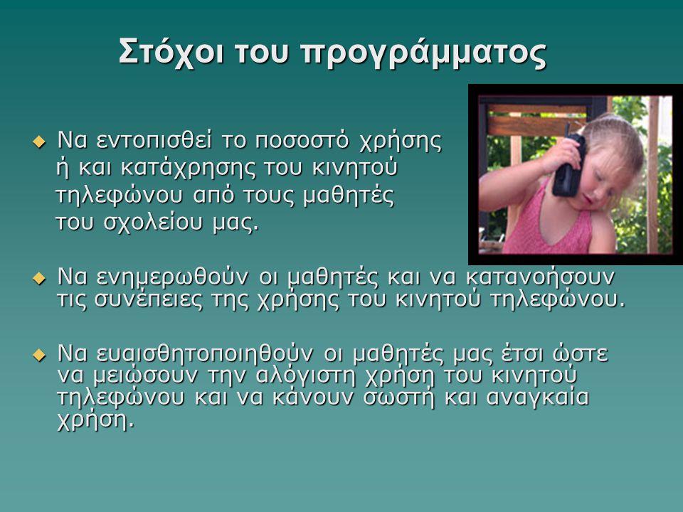Λύκειο Εθνομάρτυρα Κυπριανού Στροβόλου 14 Επιστημονικές έρευνες