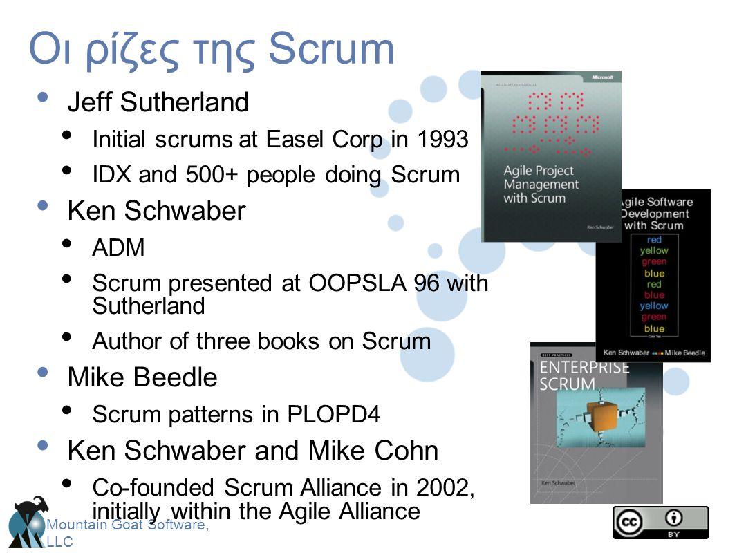 Mountain Goat Software, LLC Ο καθένας απαντά σε 3 ερωτήσεις • Αυτά δεν περιγράφουν κατάσταση έργου προς τον ScrumMaster • Είναι δεσμεύσεις μπροστά στους ομότιμους Τι έκανες χθες.