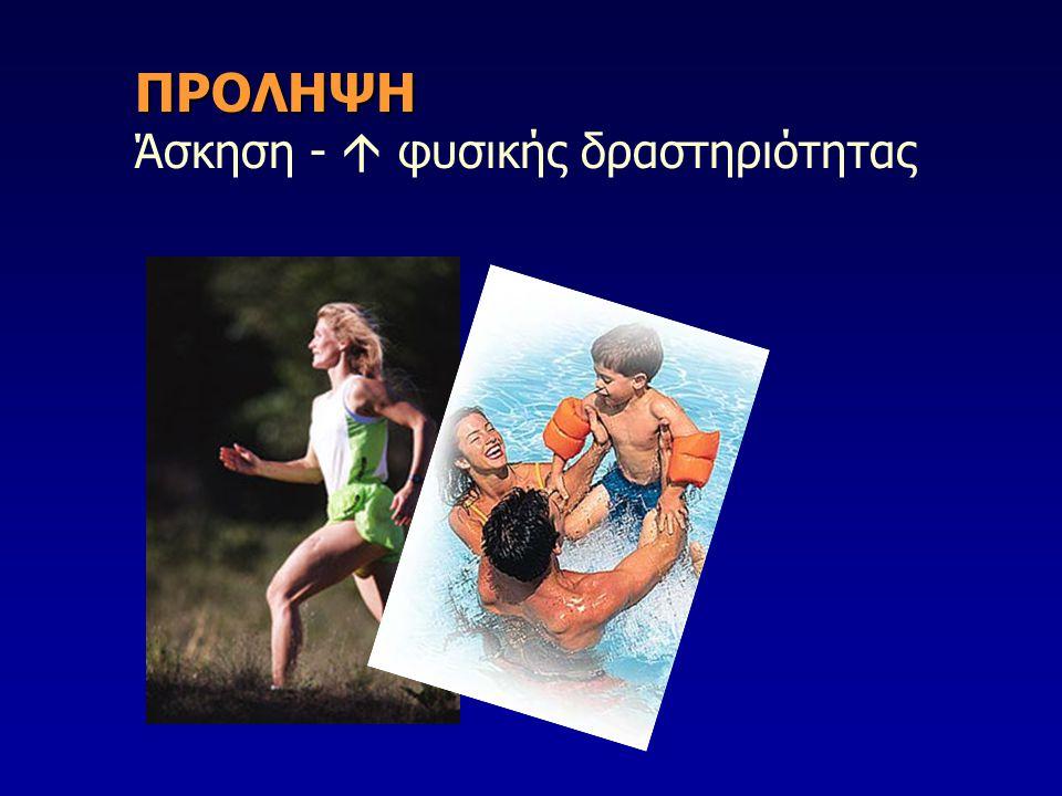 ΠΡΟΛΗΨΗ ΠΡΟΛΗΨΗ Άσκηση -  φυσικής δραστηριότητας
