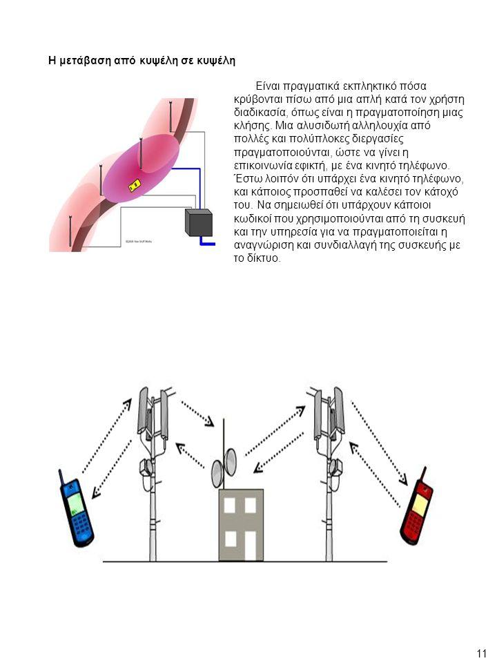 Η μετάβαση από κυψέλη σε κυψέλη Είναι πραγματικά εκπληκτικό πόσα κρύβονται πίσω από μια απλή κατά τον χρήστη διαδικασία, όπως είναι η πραγματοποίηση μιας κλήσης.