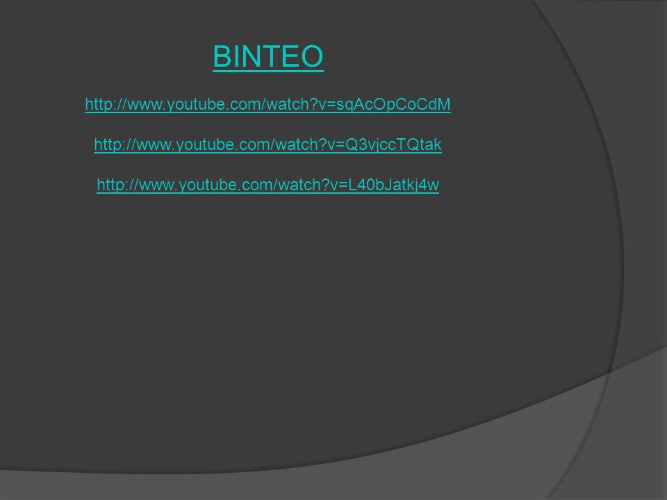 ΒΙΝΤΕΟ http://www.youtube.com/watch?v=sqAcOpCoCdM http://www.youtube.com/watch?v=Q3vjccTQtak http://www.youtube.com/watch?v=L40bJatkj4w