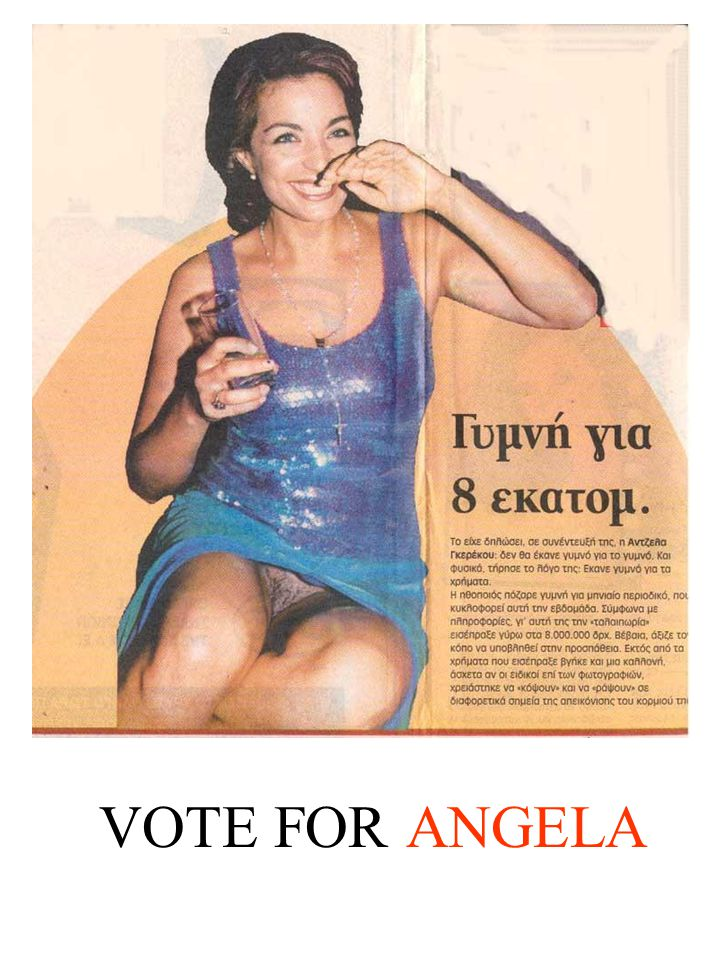 VOTE FOR ANGELA