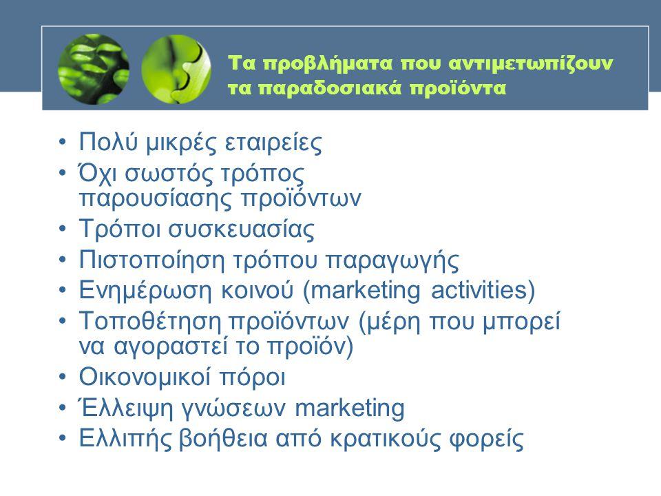Στάδια προώθησης πωλήσεων •Επιλογή προϊόντος και κοστολόγησή του •Σχεδιασμός συσκευασίας •Σχεδιασμός τρόπου προβολής (προβολή δυνατών σημείων) •Σχεδιασμός και προεπιλογή σημείων πώλησης •Ενημέρωση για τα προϊόντα του ανταγωνισμού •Κοστολόγηση ενεργειών πωλήσεων