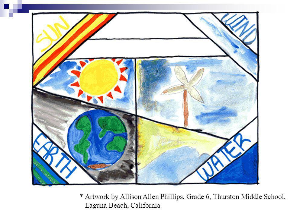 * Artwork by Allison Allen Phillips, Grade 6, Thurston Middle School, Laguna Beach, California