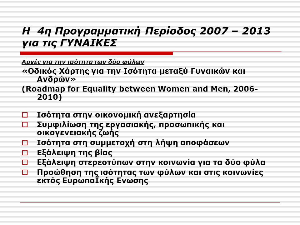 Η Ελλάδα στην περίοδο 2007-2013 Τα κύρια OIKONOMIKA Μεγέθη  ΕΣΠΑ - ΑΓΡ.