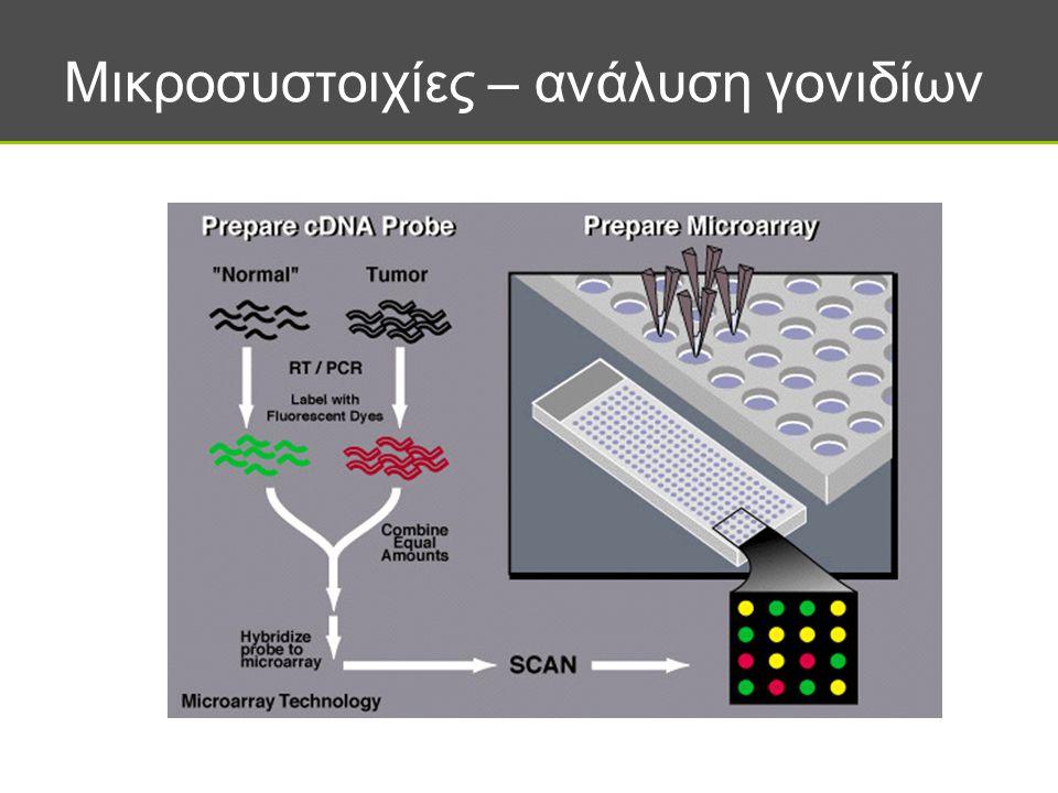 Μικροσυστοιχίες – ανάλυση γονιδίων