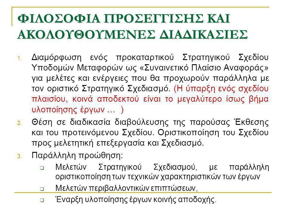 ΦΙΛΟΣΟΦΙΑ ΠΡΟΣΕΓΓΙΣΗΣ ΚΑΙ ΑΚΟΛΟΥΘΟΥΜΕΝΕΣ ΔΙΑΔΙΚΑΣΙΕΣ 1.