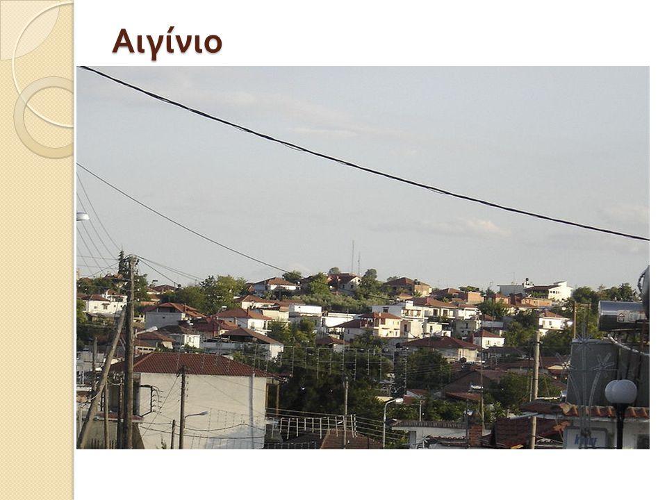 Το Αιγίνιο είναι κωμόπολη στο νομό Πιερίας με 4.280 κατοίκους, με βάση την απογραφή του 2001.