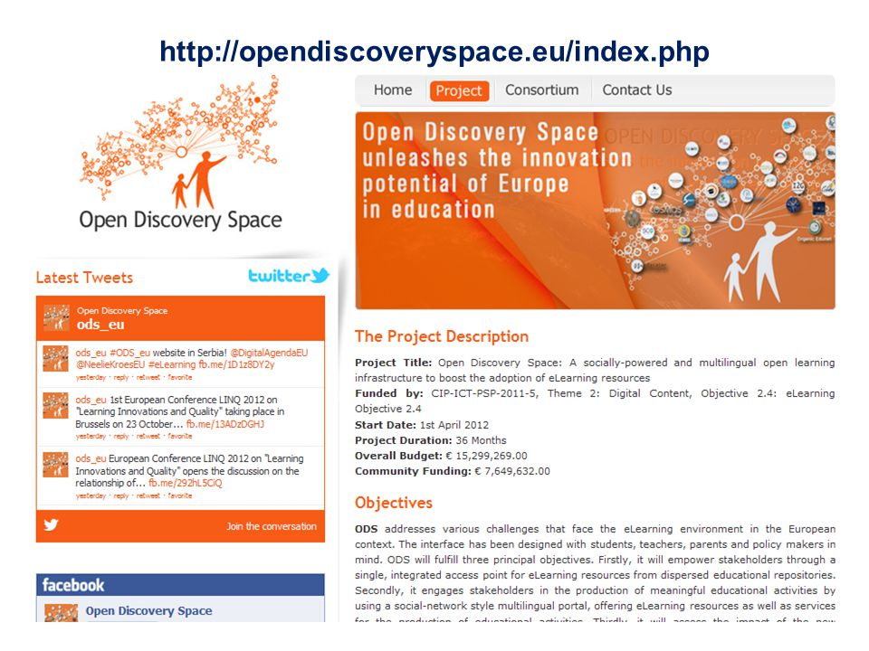 http://opendiscoveryspace.eu/index.php