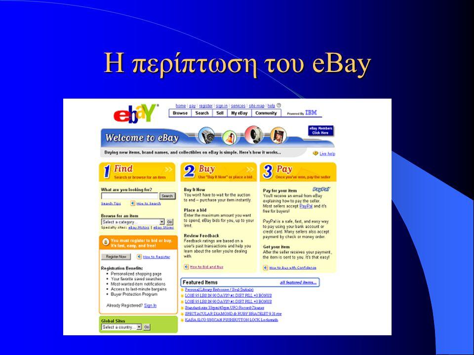 Η περίπτωση του eBay