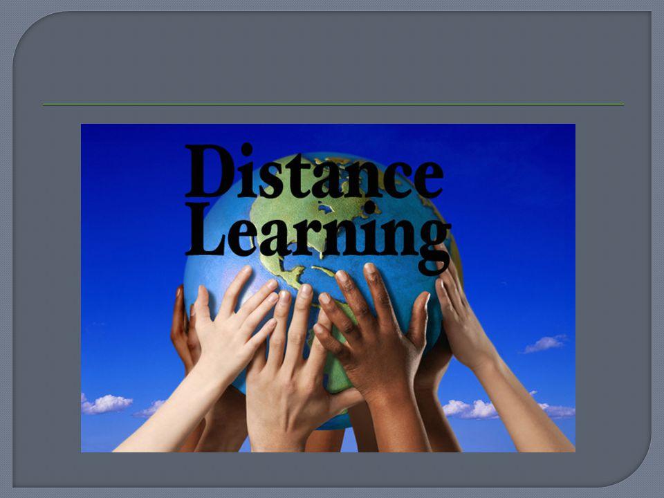  Η εκπαίδευση από απόσταση δεν είναι καινούργια έννοια. Έχει ακολουθήσει την εξέλιξη στη μορφή του εκπαιδευτικού υλικού :  1850 -... Έντυπη μορφή (