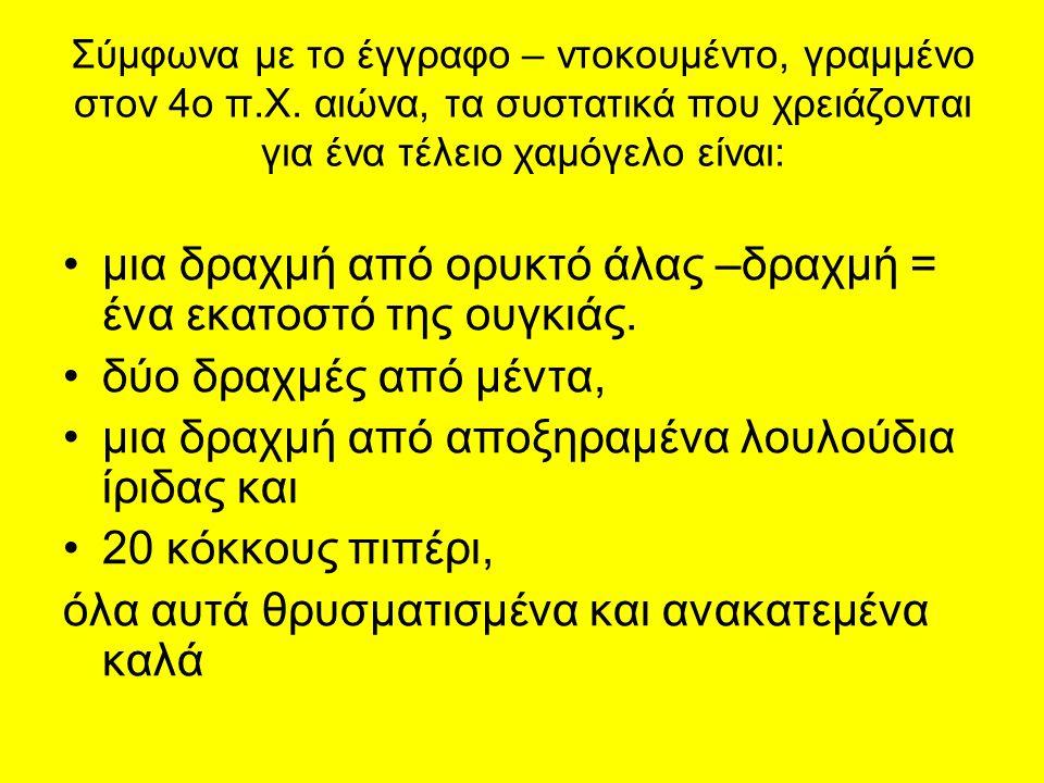 Σύμφωνα με το έγγραφο – ντοκουμέντο, γραμμένο στον 4ο π.Χ.