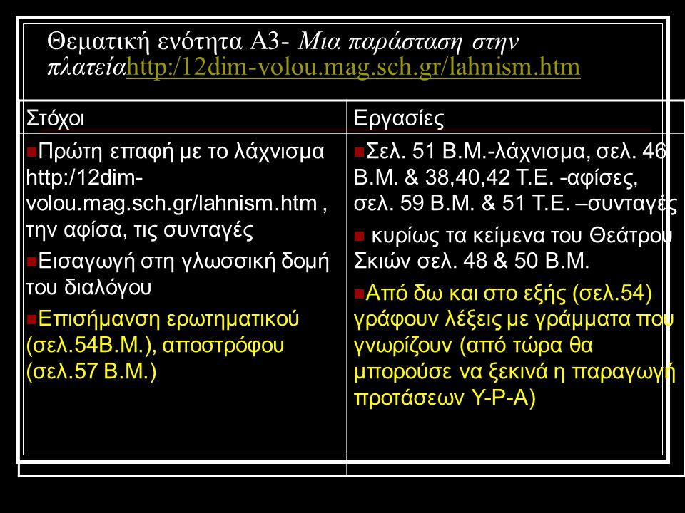 Αφήγηση vs Βιωματική αναδιήγηση ΑφήγησηΒιωματική αναδιήγηση Χωροχρονικό πλαίσιοΝΑΙ (τόπος και χρόνος) ΉρωεςΝΑΙ (πρόσωπα) Στόχος ή πρόβλημαΝΑΙ (στόχος) (περίσταση) Εμπόδια στην επίλυση του προβλήματος Εσωτερική αντίδρασηΝΑΙ (συναισθήματα) Εξωτερική δράση ηρώωνΝΑΙ Αποτελέσματα προσπαθειών Κορύφωση δράσηςΝΑΙ Άλλα τυχαία γεγονότα Λύση προβλήματοςΝΑΙ (επίλογος)