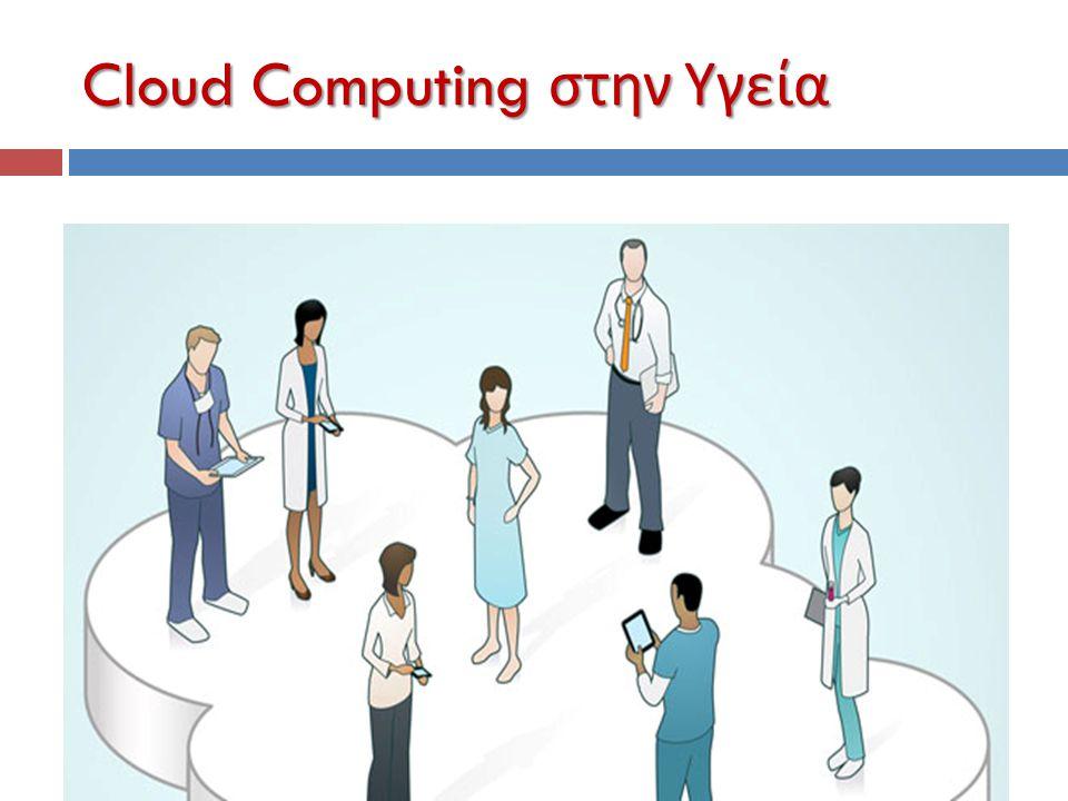 Cloud Computing στην Υγεία