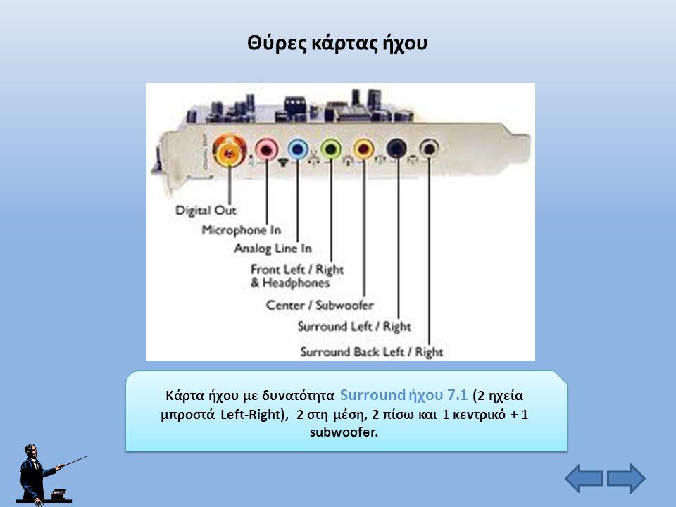 Θύρες κάρτας γραφικών VGA (αναλογική θύρα) DVI (ψηφιακή θύρα)