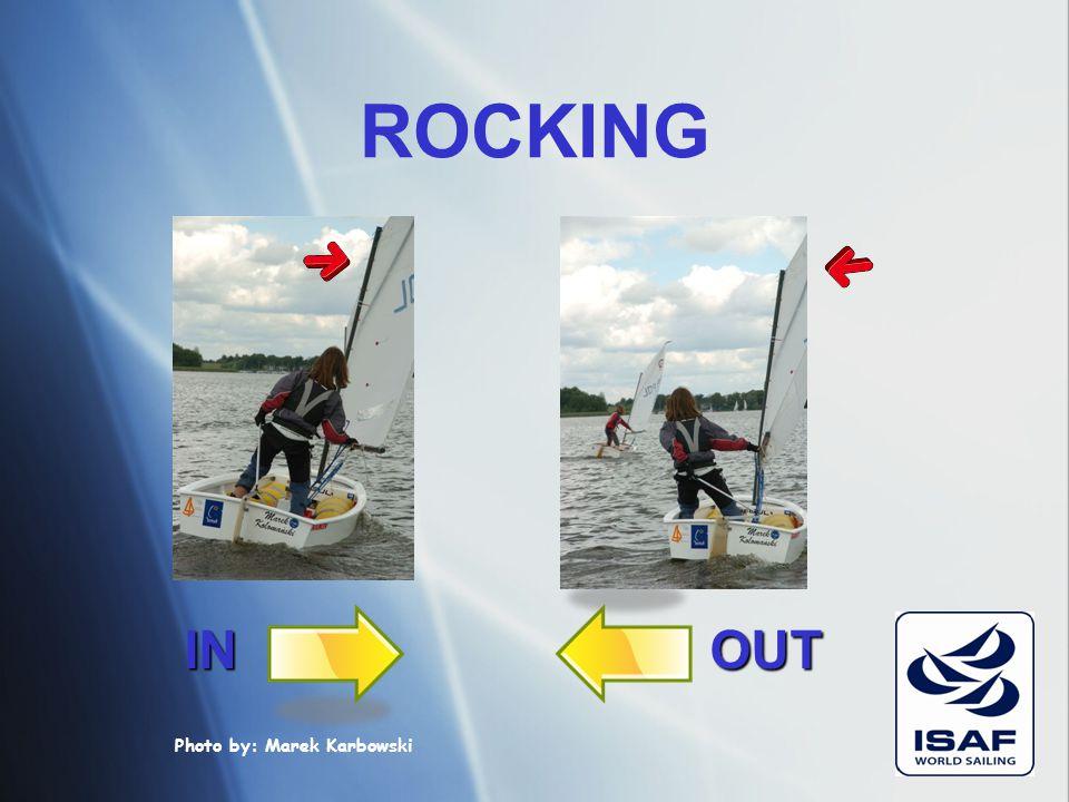 ROCKING RRS 42.2 (b) rocking: το επαναλαμβανόμενο εγκάρσιο κούνημα του σκάφους, που προκαλείται από: 1) κίνηση του σώματος 2) επαναλαμβανόμενες ρυθμίσ