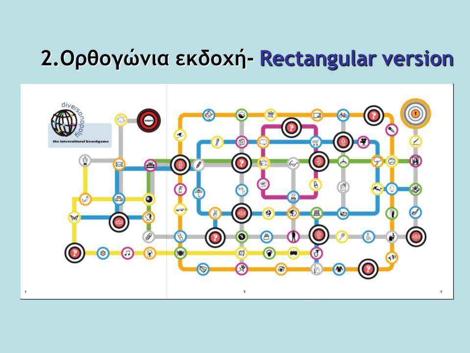 2.Ορθογώνια εκδοχή- Rectangular version
